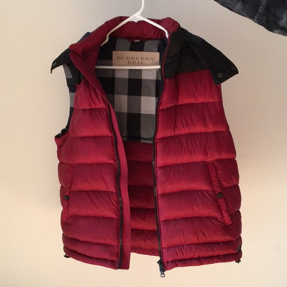 Mens burberry vest intech investment
